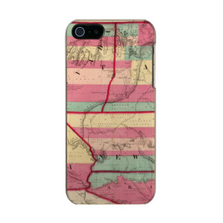 The West Metallic Phone Case For iPhone SE/5/5s