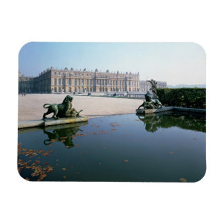 The West or Garden Facade viewed from the Parterre Rectangular Photo Magnet
