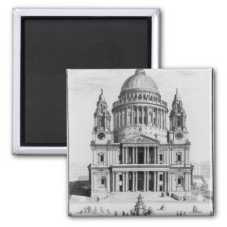 The West Prospect of St. Paul's Cathedral Magnet
