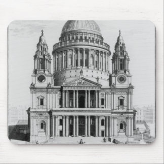 The West Prospect of St. Paul's Cathedral Mouse Pad