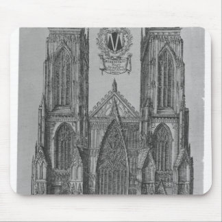The West Prospect of the Church of St. Peter Mouse Pad