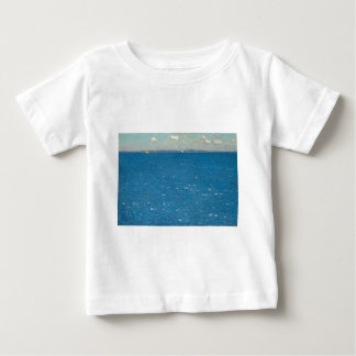 The West Wind Isle of Shoals by Childe Hassam Baby T-Shirt