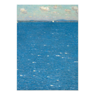 The West Wind Isle of Shoals by Childe Hassam Card