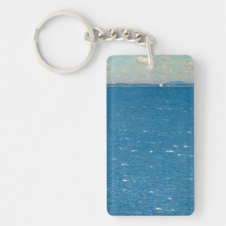 The West Wind Isle of Shoals by Childe Hassam Keychain