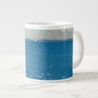 The West Wind Isle of Shoals by Childe Hassam Large Coffee Mug