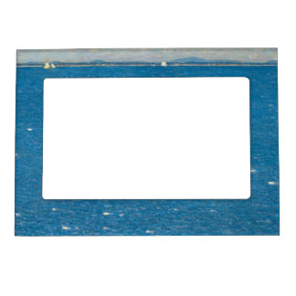 The West Wind Isle of Shoals by Childe Hassam Magnetic Photo Frame