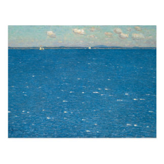 The West Wind Isle of Shoals by Childe Hassam Postcard
