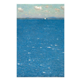 The West Wind Isle of Shoals by Childe Hassam Stationery