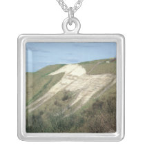 The Westbury White Horse Silver Plated Necklace