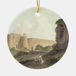 The Western Entrance of Shere Shah's Fort, Delhi, Ceramic Ornament