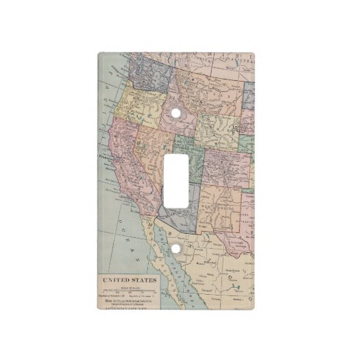 The Western United States Light Switch Cover
