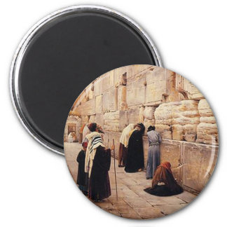 The Western Wall 2 Inch Round Magnet