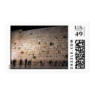 The Western Wall (Kotel) at Night , Jerusalem Stamp