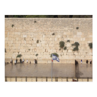 The Western Wall (Kotel), Jerusalem Postcard