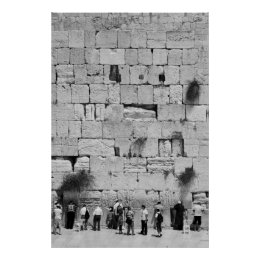 The Western Wall Poster