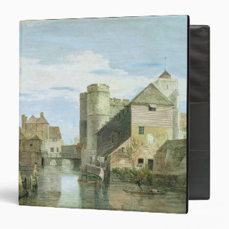 The Westgate, Canterbury (bodycolour on paper) Binder