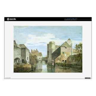 """The Westgate, Canterbury (bodycolour on paper) Decals For 15"""" Laptops"""