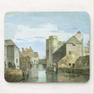 The Westgate, Canterbury (bodycolour on paper) Mouse Pad