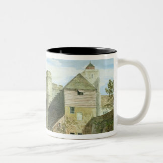 The Westgate, Canterbury (bodycolour on paper) Two-Tone Coffee Mug