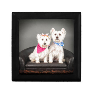 The Westie couple Gift Box
