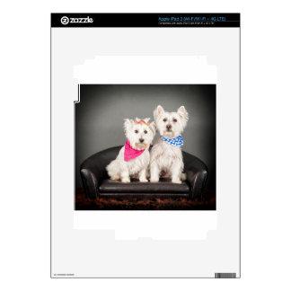 The Westie couple iPad 3 Decal
