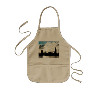 The Westminster Palace in London Kids' Apron
