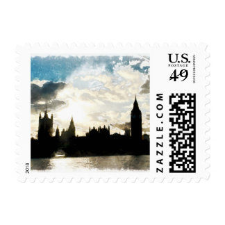 The Westminster Palace in London Postage