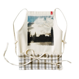 The Westminster Palace in London Zazzle HEART Apron