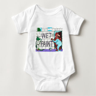 The Wet Paint Mess T Shirts