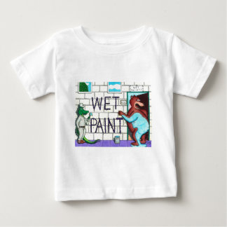 The Wet Paint Mess Tees
