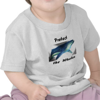 the whale, Protect, the  Whales Tees
