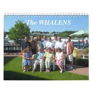 The WHALENS Calendar
