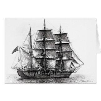 The Whaler Charles W. Morgan Card