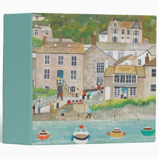 The Wharf at Mousehole 3 Ring Binder