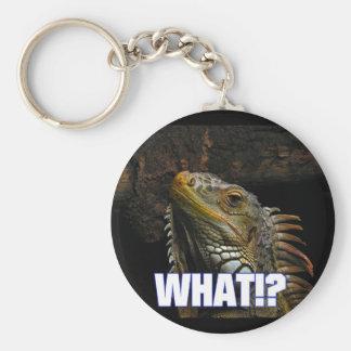 The What!? Iguana Keychain