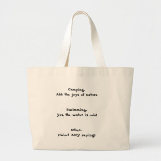 The 'Whatever the day brings' bag