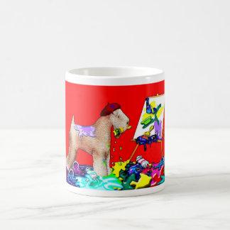 The Wheaten Terrier Artist by M. Light Mug