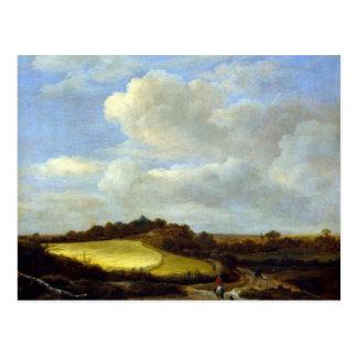 The Wheatfield Postcard