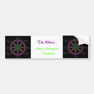 The Wheel Bumper Sticker