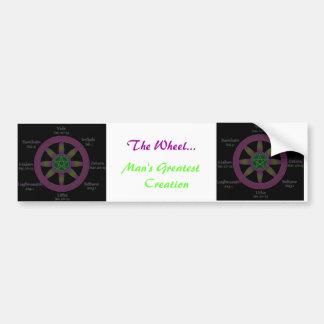 The Wheel Bumper Sticker Car Bumper Sticker