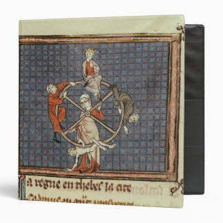The Wheel of Fortune, from Ovide Moralise Binder