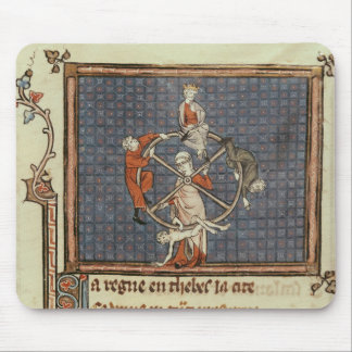 The Wheel of Fortune, from Ovide Moralise Mouse Pad
