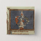 The Wheel of Fortune, from Ovide Moralise Pinback Button