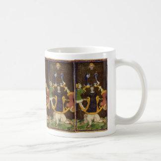 The Wheel of Fortune Tarot Card Classic White Coffee Mug