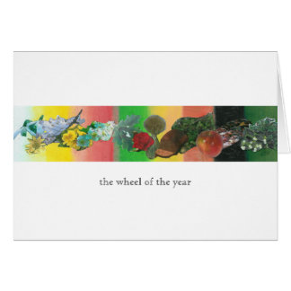 The Wheel of the Year Greeting Card