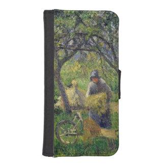 The Wheelbarrow, Orchard, c.1881 iPhone SE/5/5s Wallet