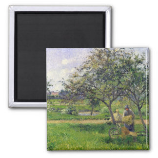 The Wheelbarrow, Orchard, c.1881 Magnet