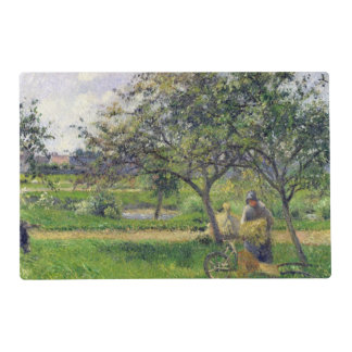 The Wheelbarrow, Orchard, c.1881 Placemat