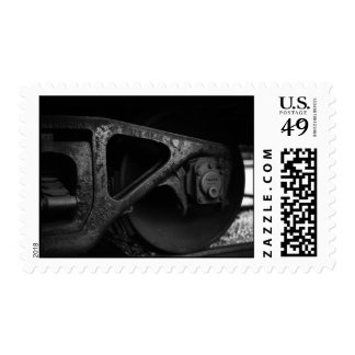 The Wheels on the train Postage Stamp