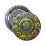 The Wheels (religious geometric symbolism) 2 Inch Round Button